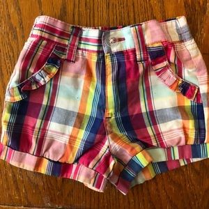 Polo by Ralph Lauren Bottoms - NWOT: Polo Toddler Girls 2T Shorts With Ruffles